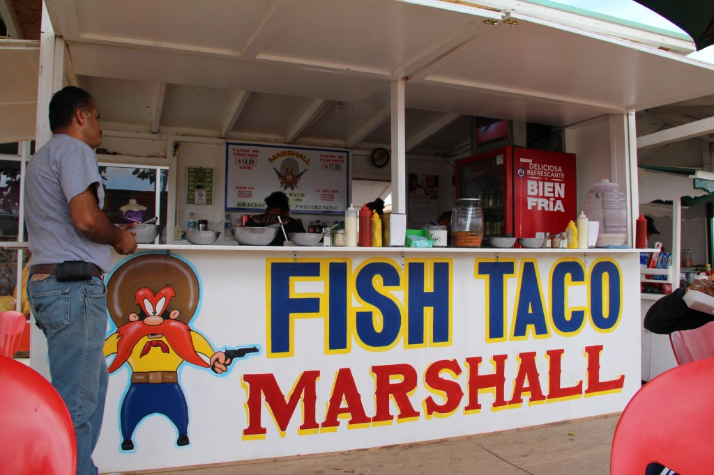 Fish Taco Marshall in San Quintin