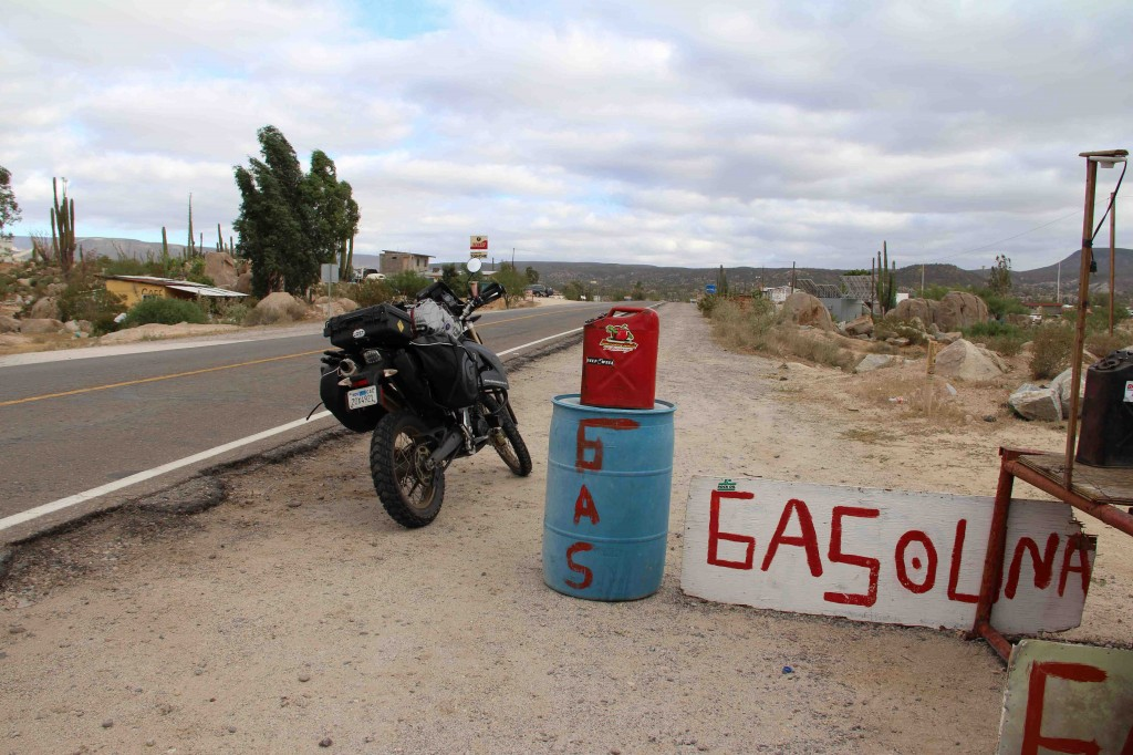Baja Gas Station in Catavina