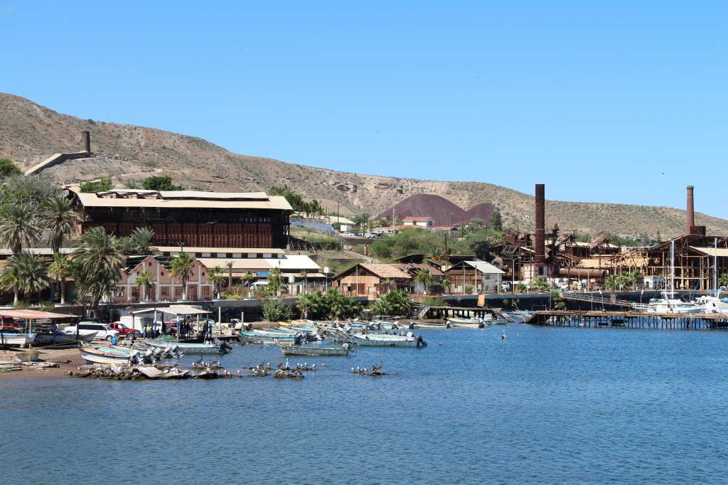 The port and town of Santa Rosalia