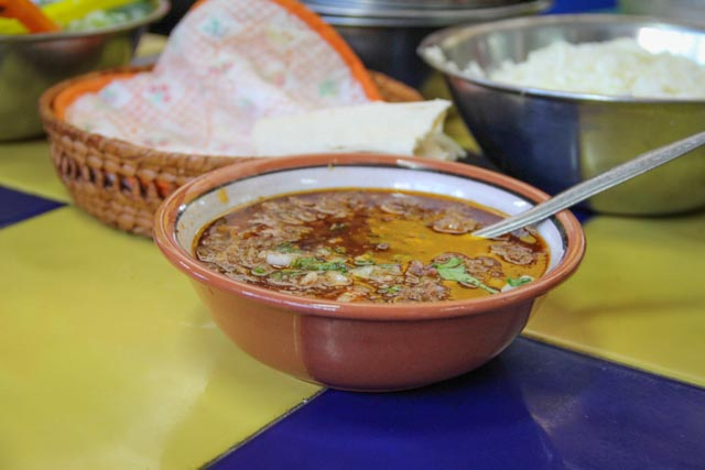 Birria, a traditional Mexican stew