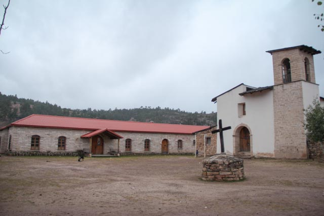 Cusarare Mission built in 1741