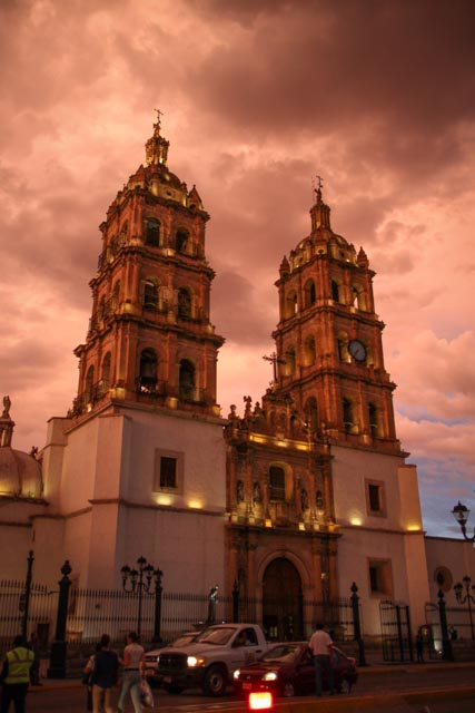 Catedral Basílica Menor. Durango Mexico. Built 1695-1713