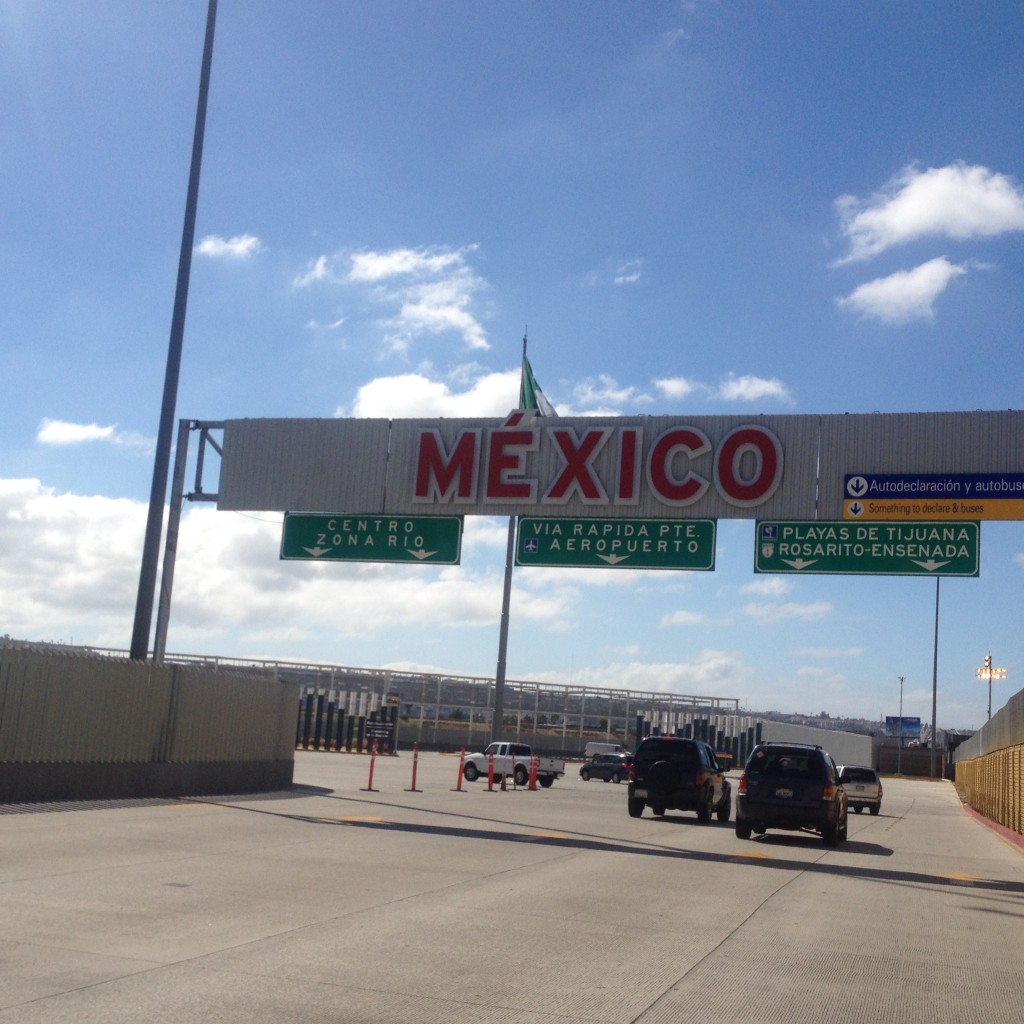 USA Mexico Border