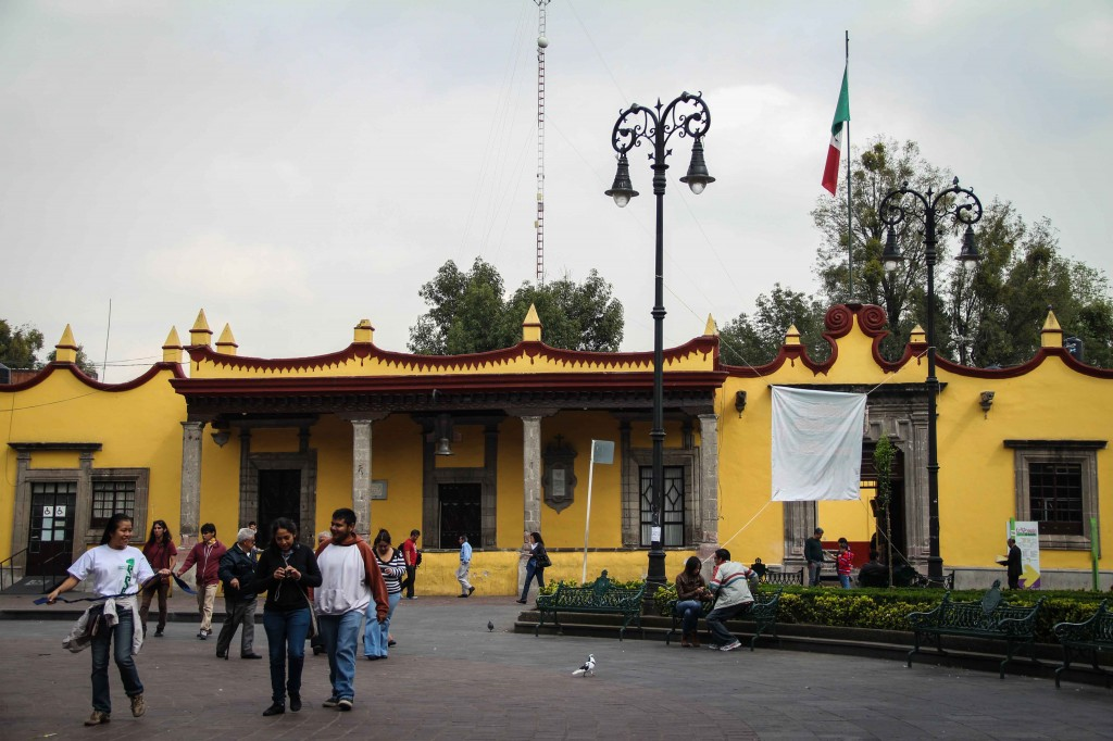 Casa Municipal in Plaza Hidalgo in centro Coyoacán