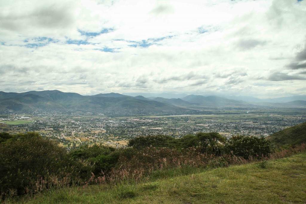 Looking over Oaxaca, the capital and largest city in the state of Oaxaca.
