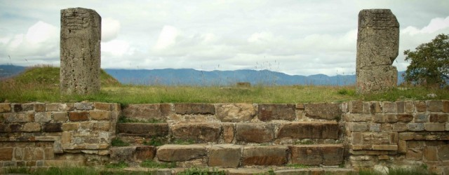 The Ruins of Monte Albán