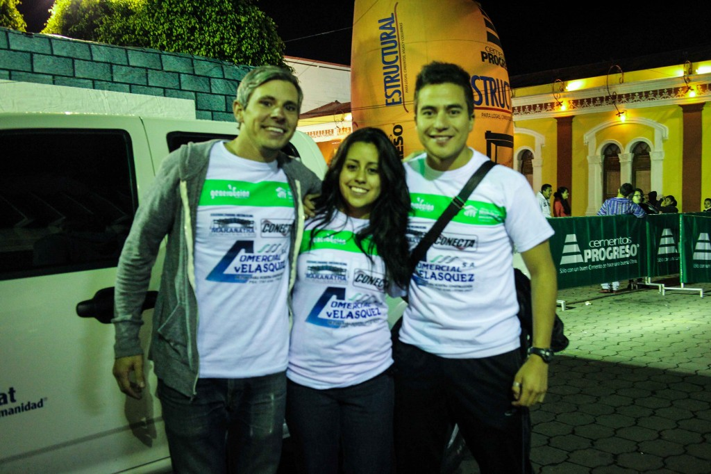 Me, Nadia, and Mario at the Habitat for Humanity 10k Run in San Marcos Guatemala