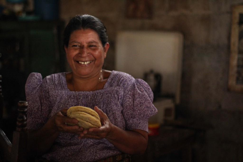 Mayan women are pros at making tortillas