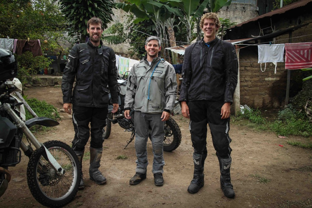 I felt tall in Guatemala until I met Kyle and Trevor.