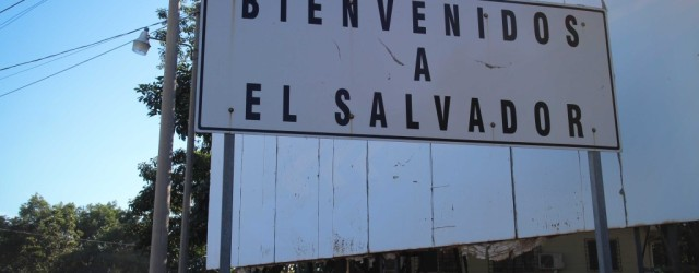 Getting into El Salvador